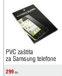 PVC zaštita za Samsung telefone