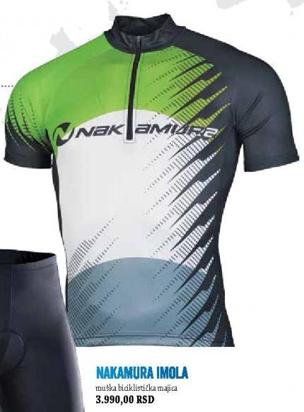 Muška biciklistička majica Nakamura Imola