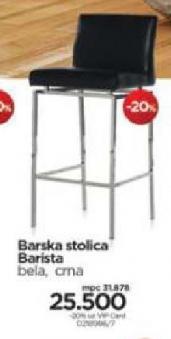 Barska stolica Barista