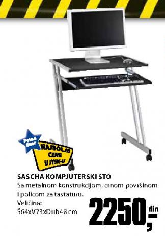 Kompjuter sto Sascha
