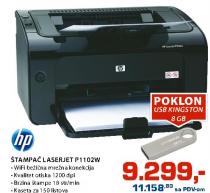 Štampač Laserjet P1102W