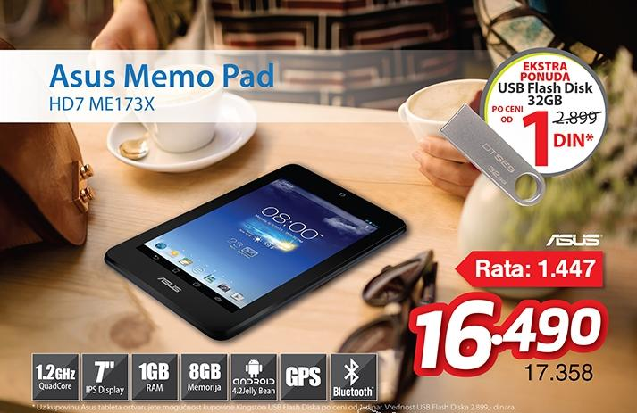 Tablet HD7 ME173X-1G040A