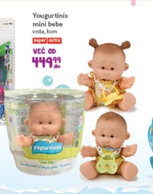 Igračka yogurtinis mini bebe