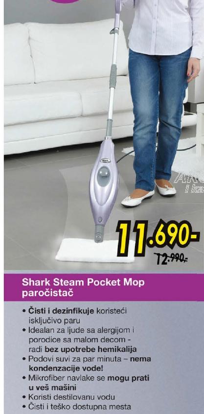Paročistač Steam Pocket Mop