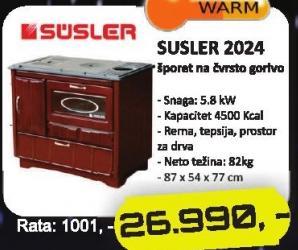 Šporet 2024 Susler