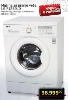 Mašina za pranje veša F12B9LD