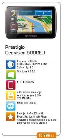 Navigacija Geovision 500 Eu