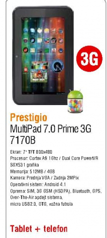 Multipad 7.0 Prime 3G 7170B