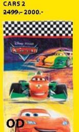 Peškir Cars 2
