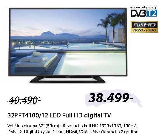 """Televizor LED 32"""" 32PFT4100"""