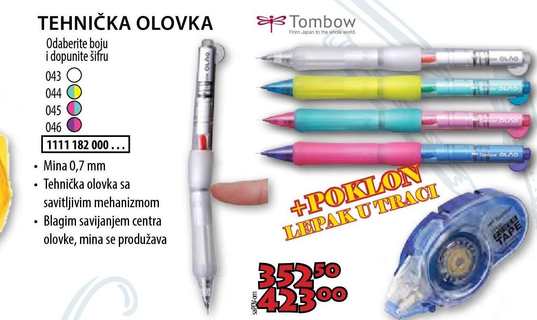 Olovka tehnička