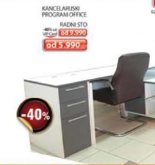 Kancelarijski program Office - radni sto