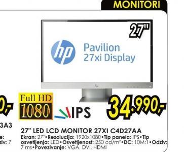 Monitor 27XI C4D27AA