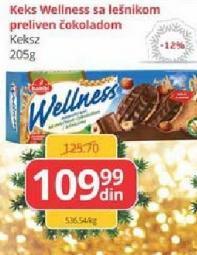 Keks integralni čokolada i lešnik