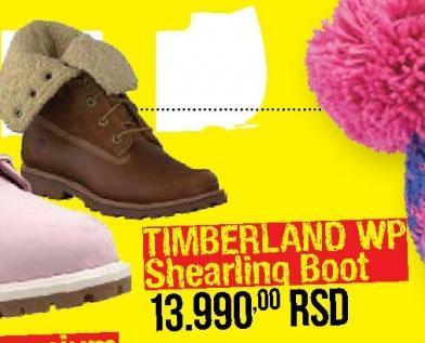Čizme Timberland WP Shearling Boot