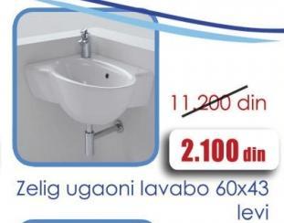 Ugaoni lavabo Zelig