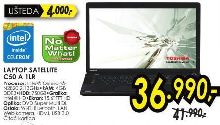 Laptop Satellite C50 A 1lr