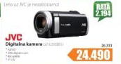 Digitalna kamera JVC GZ-E205BEU