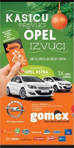 Kasicu provuci, Opel izvuci!
