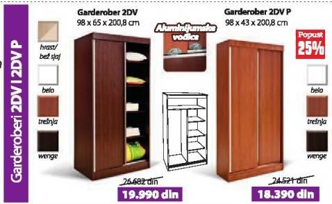 Garderober 2dv P