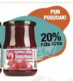 20% niža cena na domaći džem od šipurka