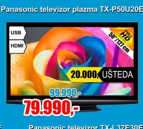 Televizor plazma TX-P50U20E