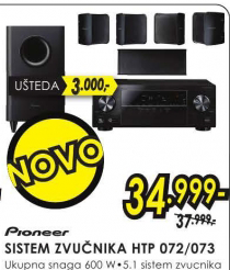 Sistem zvučnika HTP-072/073