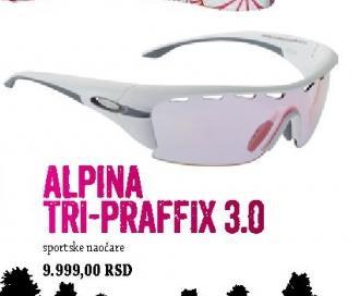 Sportske naočare Alpina Tri-Praffix 3.0