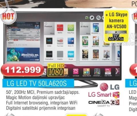 LED TV 50LA620S