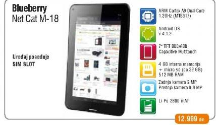 Tablet Netcat M-18