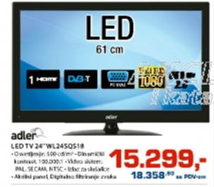 "LED TV 24"" WL24SQS18"