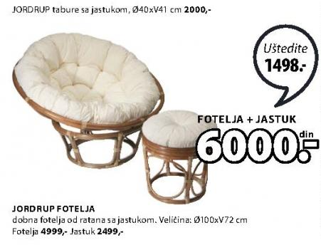 Jastuk za fotelju Jordrup
