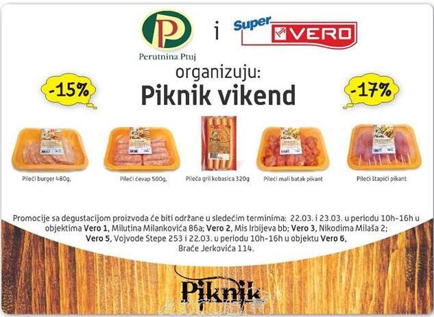 Piknik vikend - promocije sa degustacijom
