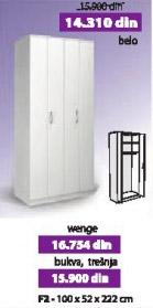 Garderober F2 wenge