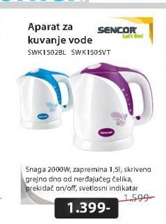 Aparat za kuvanje vode SWK1502BL