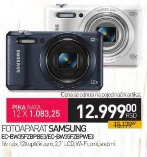 Digitalni fotoaparat Ec-Bw35fzbpBbe3/Ec-Bw35fzbpwe3
