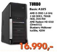 Računar Turbo Basic A105