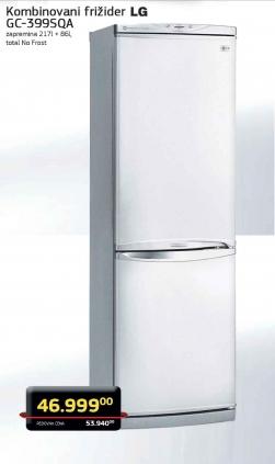 Kombinovani frižider GC-399SQA