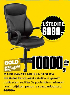 Kancelarijska stolica Mark