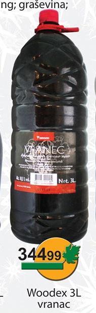 Crno vino Vranac Woodex