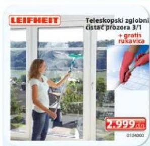 Teleskopski zglobni čistač prozora