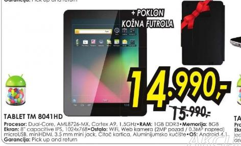 Tablet TM 8041HD