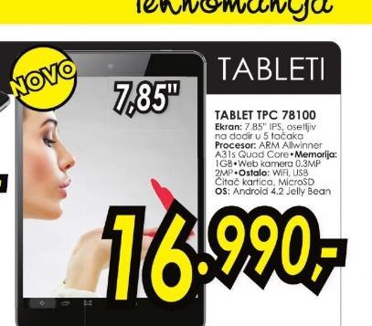 Tablet TPC 78100