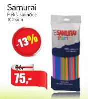 Samurai Feksi slamčice