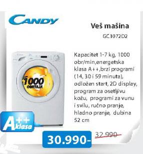 Mašina za pranje veša GC1072D2