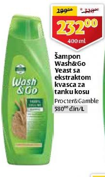 Šampon za kosu Yeast