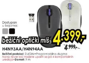 Bežični optički miš H4N94AA