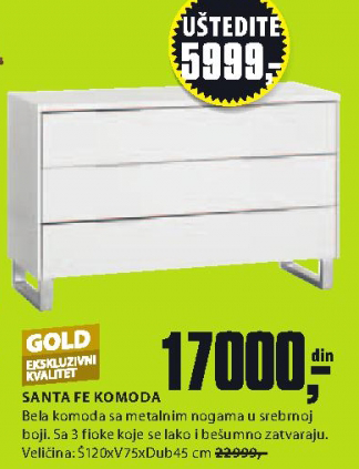 Komoda Santa Fe