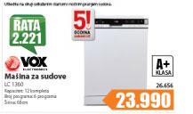 Mašina za pranje sudova  LC 1360
