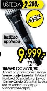 Trimer QC 5770/80